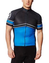 Canari Cyclewear Men's Karanos Jersey, Breakaway Blue, Large