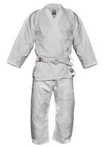 Fuji Karate Uniform, White, 4