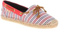 Sperry Top-Sider Women's Katama Prints Boat Shoe, Red/Navy