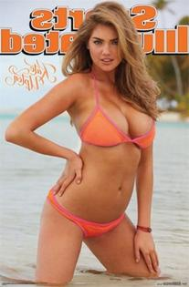 Sports Illustrated Swimsuit Kate Upton Poster 22 x 34in