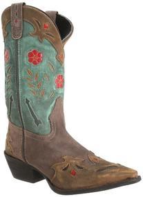 Laredo Women's Miss Kate Western Boot, Tan/Pink, 6 M US