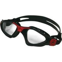 Aqua Sphere Kayenne Goggles Black/Red with Clear Lens