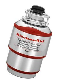 KitchenAid KBDS100T 1 hp Batch Feed Food Waste Disposer,