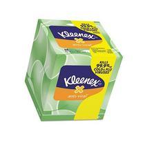 Kleenex KCC25836CT Anti-Viral Facial Tissue, 3-Ply, 68