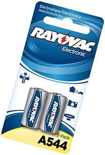 RAYOVAC KEA544-2ZMA Alkaline Keyless Entry Batteries, 2 Pack