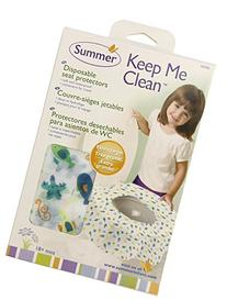Summer Infant Keep Me Clean Disposable Potty Protectors, -