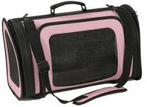 Petote Kelle Pet Carrier Bag, Large, Light Pink