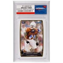 Kenny Vaccaro New Orleans Saints Autographed 2013 Bowman #