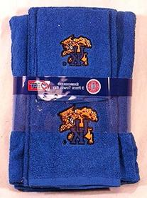 Kentucky Wildcats 3 PC Embroidered Bath Towel Gift Set