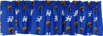 College Covers Kentucky Wildcats Printed Curtain Valance, 84