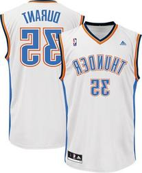 Kevin Durant Oklahoma Thunders Home White NBA Youth