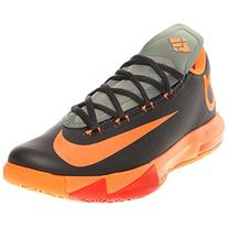 Nike Men's Kevin Durant's KD VI Sneakers In Anthrct/TTL Orng