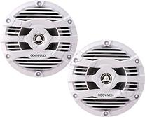 "Kenwood KFC-1653MRW 6.5"" 2-way Marine Speakers Pair"