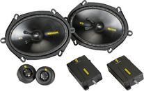 "Kicker 40CSS684 6""x8"" Component Speaker System"