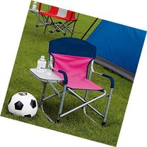 Kid's Directors Chair with Fold Away Side Table - Great for