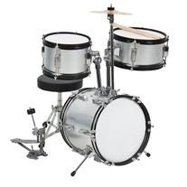 "Kids Drum Set 3 Pc 13"" Beginners Complete Set with Throne,"