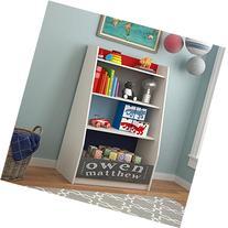 Cosco Kids Furniture Kaleidoscope Storage Bookcase, Classic/