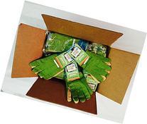 Twigz Kids Gardening Gloves - Multipack of 36 Pairs - Big