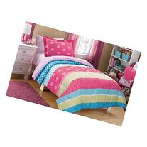 Mainstays Kids Mix It Up Bed in a Bag Bedding Set, FULL Size