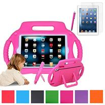 HDE iPad Mini Case Kids Shock Proof Steering Wheel Stand for