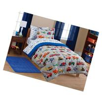 Mainstays Kids' Transportation Coordinated Bed in a Bag,