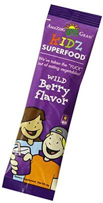 Amazing Grass Kidz Superfood Powder, Wild Berry, 15 Count