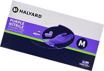 Halyard Health Nitrile Glove, Purple, Medium, 100 Count