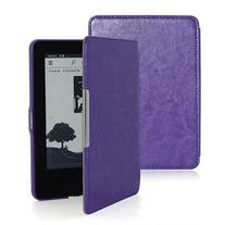 F.Dorla® Kindle Paperwhite Leather Case Ultra Slim Cover
