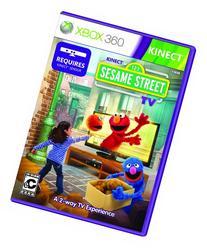 KINECT SESAME STREET TV XBOX360 NTSC DVD