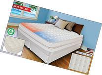 """KING 15"""" INNOMAX® MEDALLION ADJUSTABLE SLEEP AIR BED SET"""