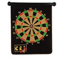 "15"" Magnetic Dart Board Set Hanging Wall Rubber Dartboard"