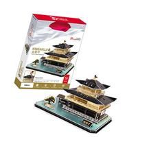 Kinkakuji Temple - World Great Architecture - 56 Pieces 3D