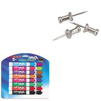 KITGEMCPAL4SAN81045 - Value Kit - Gem Aluminum Head Push