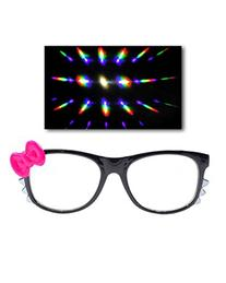 Emazing Lights Kitty Dffraction Prism Fireworks Rave Glasses