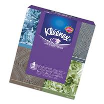 KLEENEX Ultra Soft Facial Tissue, 3-Ply, White, 8.2 inch x 8