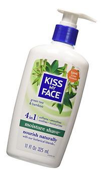 Kmf Shave Moist Grn Tea B Size 11z Kmf Shave Moisture Green