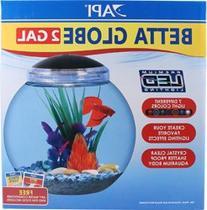 API Betta Kit Globe Fish Tank, 2-Gallon