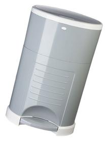 Dekor Plus Hands-Free Diaper Pail, Gray