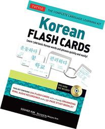 Korean Flash Cards Kit: Learn 1,000 Basic Korean Words and