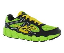 Saucony Kids Slime/Black/Yellow Boys Kotaro Pre-School 13.5