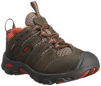 KEEN Koven Low WP Hiking Shoe , Cascade Brown/Burnt Orange,