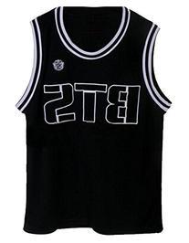 Kpop Bangtan Boy BTS Baseball Uniform Tank Top T-shirt XL