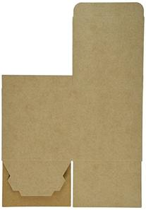 4in. X 4in. X 4in. Kraft Gift Boxes - pack of 10