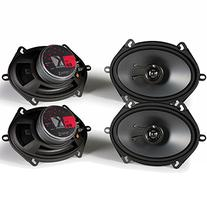 Kicker KS speaker package - Two pairs of Kicker 11KS68 6x8