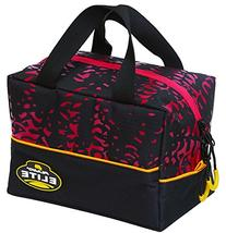 Plano KVD Worm File Speed Bag, Black/Red/Yellow, Large