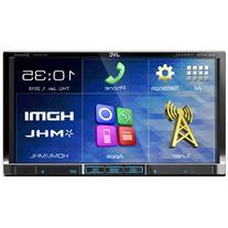 "JVC KW-V51BT 2-DIN DVD Multimedia Receiver with 7"" Monitor"