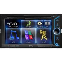 JVC KWV30BT 6.1-Inch LCD In-Dash Car Receiver with Bluetooth