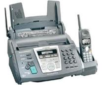 Panasonic KX-FPG371 Plain-Paper Fax with Cordless Phone and