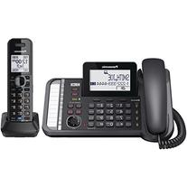 Panasonic KX-TG9582B Link2Cell DECT_6.0 2-Handset 2-Line
