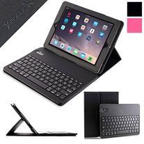 iPad Keyboard + Leather Case, Alpatronix KX100 Bluetooth